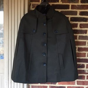Military style cape from Tart Collection- NWT